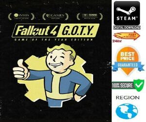 Fallout 4: Game of the Year Edition STEAM GLOBAL **FAST DELIVERY**