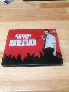 Shaun Of The Dead Blu Ray Steelbook