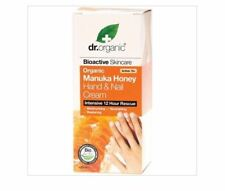 DR ORGANIC Organic Manuka Honey Hand & Nail Cream 125ml Intensive 12 Hour Rescue
