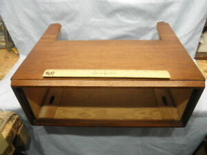 <>FISHER WOOD CABINET / CASE For 400 500/B/C 800C TUBE RECEIVERS NR