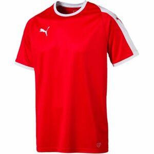 Puma Herren T-Shirt Liga Jersey rot-weiß Größe S UVP 19,99