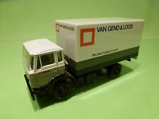LION CAR 75 DAF 1900 VAN GEND EN LOOS TRUCK TRAILER - 1:50 - GOOD CONDITION
