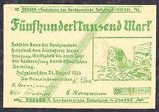 Helgoland -Landgemeinde- 500.000 Mark vom 24.08.1923 (Typ III)