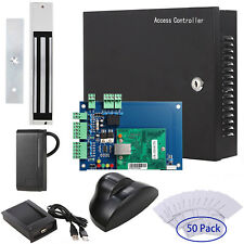Access Control Systems Reader Motion Sensor Magnetic Lock Power Supply Box Card.