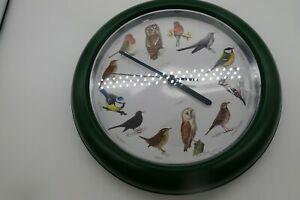 6668 BIRDSONG KITCHEN  WALL CLOCK