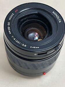 Minolta AF 35-80mm F4-5.6 Zoom Lens for Sony Alpha & Minolta AF - SLR / DSLR