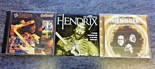 JobLot 3 Jimi Hendrix CDs. Guitarist Tutorial CD ROM. Live Royal Albert H. Rare