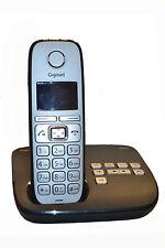 Siemens Gigaset E310A / E 310 A analog schnurlos Telefon mit AB anthrazit