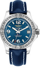 A7438953/C913-194X | BRAND NEW BREITLING COLT 36 DIAMOND 36MM BLUE WOMEN'S WATCH
