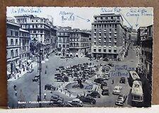 Roma - Piazza Barberini [grande, b/n, viaggiata]