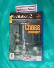 Play it Chess Challenger getestet ps2 Spiel Komplett Playstation Spiel