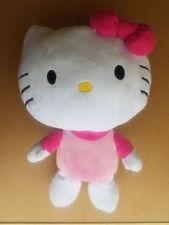 "Sanrio HELLO KITTY 16"" Plush Doll Pillow Pal Bow Pink Dress 2013"