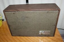Vintage Ge General Electric Porta-Fi Sp11 Speaker Powers On Good Condition 1969
