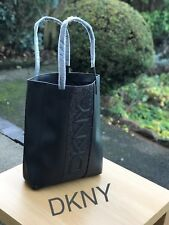 🆕DKNY Donna Karen Black Glitter Tote Shop Shoulder Bag New 💖❤️