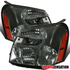 05-09 Chevy Equinox Replacement Smoke Headlight Pair Front Head Lamp Left+Right