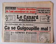 Le Canard Enchaîné 19/01/2000; Dessin de Cabu/ Botton Rapelle ses cadeaux à Chir