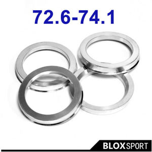 OD74.1 TO ID72.6 for BMW Wheel Hub Ring 72.6-74.1 Change Center Bore Size Bigger