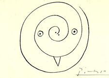 PABLO PICASSO 1964 SIGNED LITHOGRAPH +COA $ £ € UNIQUE GIFT. Great Rare Art FIND