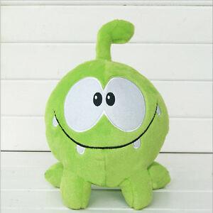Funny Om nom Game frog plush Toy Cute Soft Stuffed Doll Cartoon Kid as Gift 20cm
