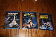 Lot 3 Family Guy Trilogy Blue Harvest The Dark Side Its a Trap Blu-Ray Brand New