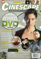 CINESCAPE #59-MATRIX COVER-STAR TREK-007-BUFFY-THE LORD OF THE RINGS-TERMINATOR