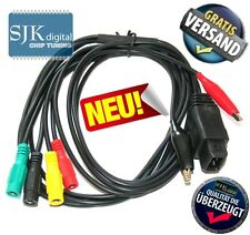 OBD PEUGEOT 2PIN + 2CLIP Diagnose Adapter Kabel auf 4 pol.. fur Bosch KTS ! +++