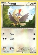 POKEMON B&W EMERGING POWERS - RUFFLET 86/98
