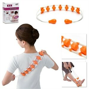 Body System ® EZE Massage Tired Muscle Back Personal Roller Stress Relief Ball