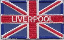 City of Liverpool Jack Flag Embroidered Badge Patch