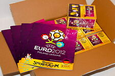 Panini EM EC Euro 2012 – 12 x BOX DISPLAY 1200 Tüten packets + 4 x ALBUM GERMANY