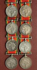WW2 - Africa Service Medal - 925 Silver - Named Union Defence Forces - Red Oath