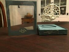 Lenox Ornament Holiday Wishes - Hark Angel and Horn - with Box