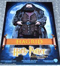 Harry Potter 1st Film Cinema Promo Postcard Hagrid