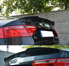 AUDI A5 S-LINE Heckspoiler Spoiler Ansatz Dachspoiler schwarz glänzend