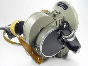UNUSED 35mm cine movie camera body Konvas 1KCP + 3 magazines, cord. OCT18 723511