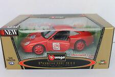 "* Burago * Porsche 911 Carrera 1997  Exclusiv ""Idee&Spiel"" Limited Edition"