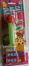 SHOPKINS Pez Dispenser   STRAWBERRY KISS [Carded]