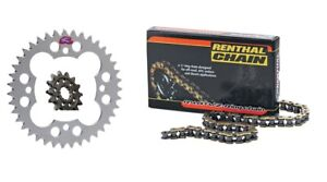 Renthal Grooved Front Sprocket 13 Tooth For 2008-2013 Kawasaki KFX 450R