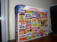 White Mountain Puzzle: Candy Wrappers #862D - 1,000 Pieces