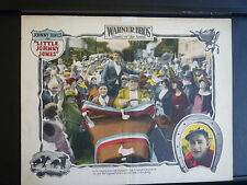 1923 LITTLE JOHNNY JONES - LOBBY CARD - SILENT - HORSERACING GAMBLING COMEDY