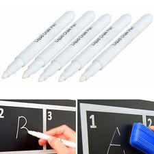 3pcs White Liquid Chalk Pen/Marker for Glass Windows Chalkboard Blackboard
