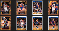 Golden State Warriors 8 Cards Lot 2017-18 Kevin Durant Klay Thompson Green +More