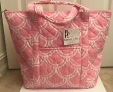 Buckhead Betties Harbor Bae Baby Pink Quilted Tote Bag Travel Nursery Gift