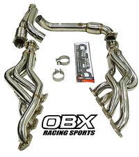 OBX Exhaust Header Manifold For 09 10 12 13 14 Dodge Ram 1500 Hemi Pickup A/T
