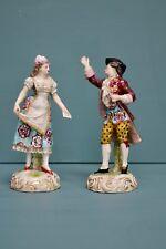 18th Century Derby Porcelain Figures (CB051)