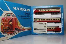 H0 1:87 Märklin 3071 TEE de 1973 TransEuropExpress sin usar / like NEW