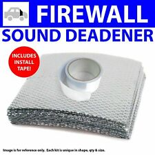 Heat & Sound Deadener Early Cars 1928 - 1932 Firewall Kit + Seam Tape 12384Cm2