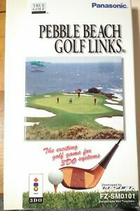 Pebble Beach Golf Links NEW Sealed Panasonic 3DO 3D0 Long Box with Sealed Game