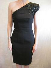 Alex Perry Size 6 Black Cocktail Designer Dress LBD