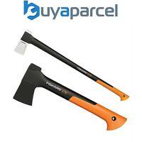 Fiskars FSK121423 XS X7 Chopping Axe 850g + FSK122503 X27 Splitting Axe 2.8kg